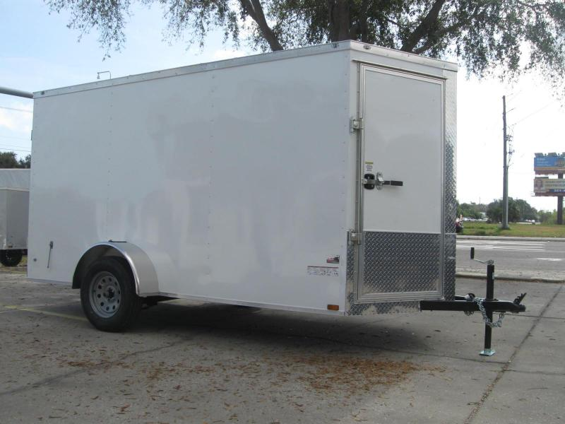 6x12 BARN DOORS Enclosed Cargo Trailer