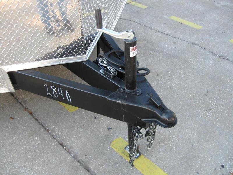 8.5x20 Trailer V-Nose Enclosed Cargo Trailer