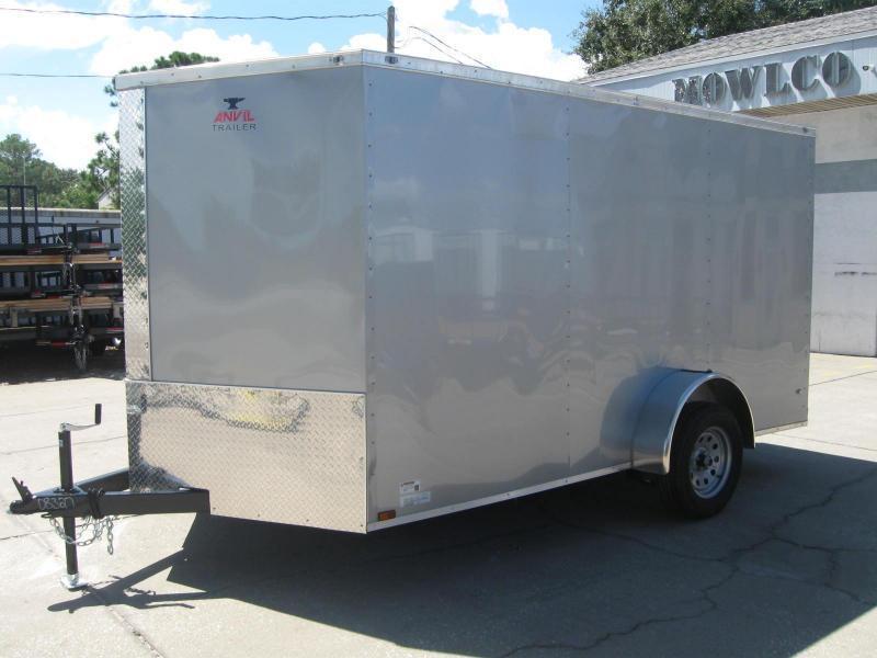 7x12 Therma Cool V Nose Cargo Trailer Brevard Utility