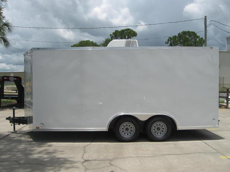 8.5x16 Trailer A/C Therma Cool Cargo Trailer