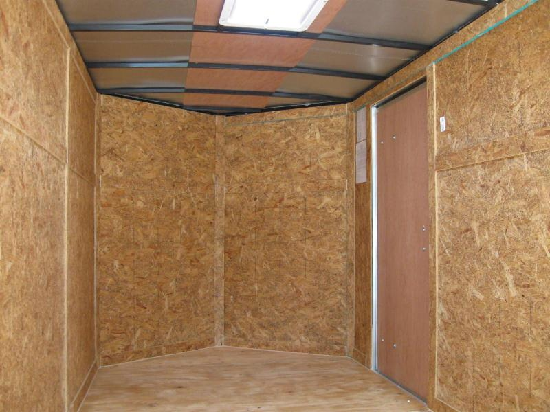 6x12 Trailer Enclosed V-Nose Cargo Trailer