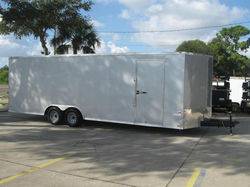 8.5x24 Trailer 7' TALL Therma Cool 10K GVWR
