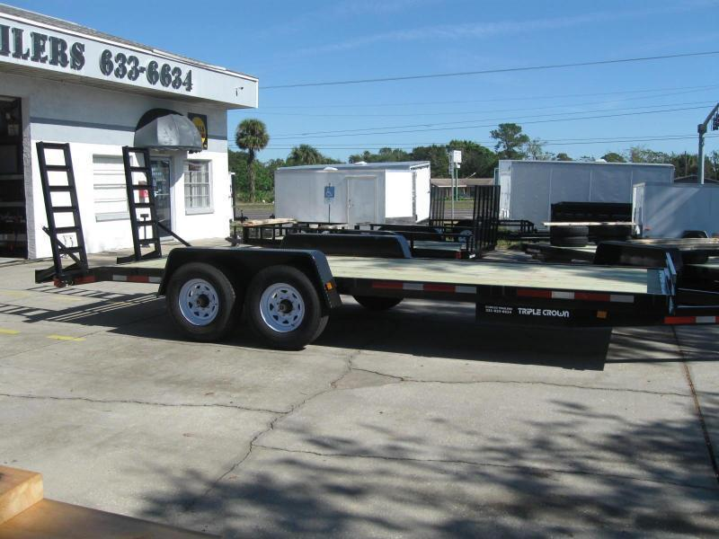 7x20 Trailer Low Rider 14K Equipment Trailer