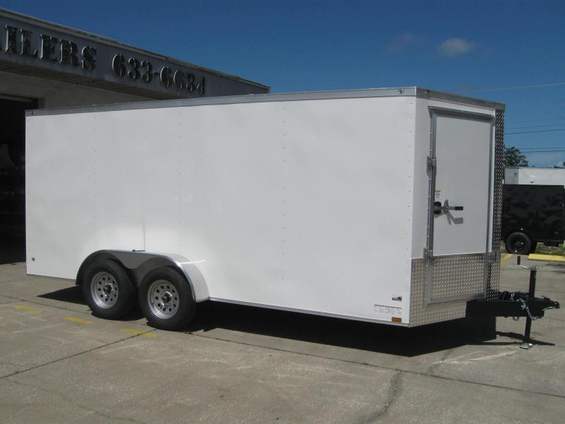 7x16 Trailer Therma Cool BARN DOORS