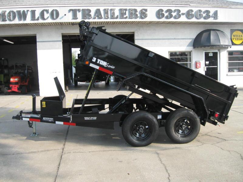 7x10 Dump Trailer 7K / 3.5 Ton GVWR