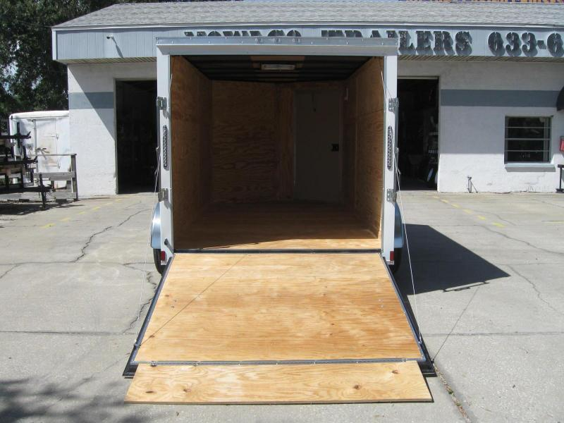 7x12 Therma Cool V-Nose Enclosed Cargo Trailer