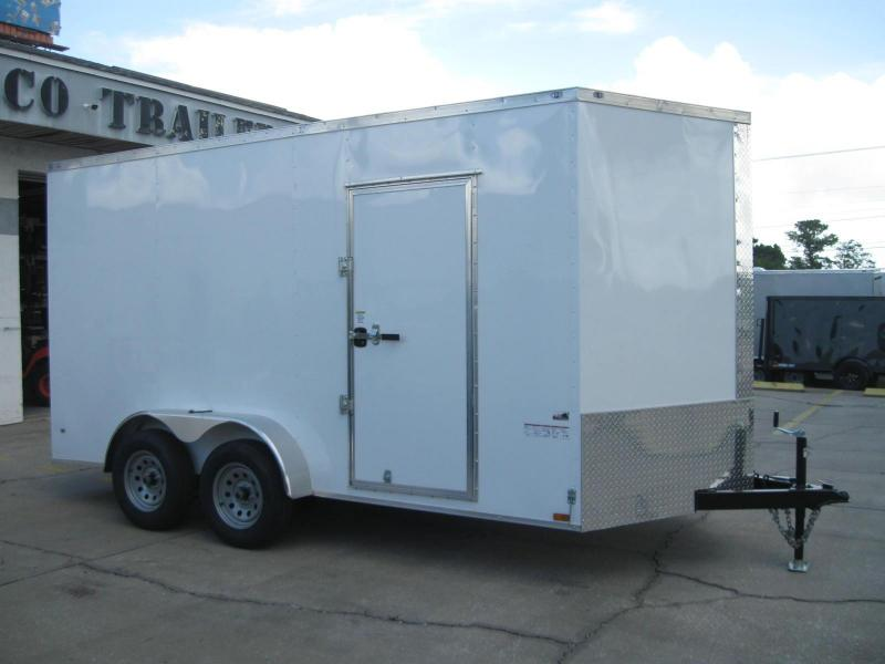 7x14 Trailer Therma Cool 7' TALL