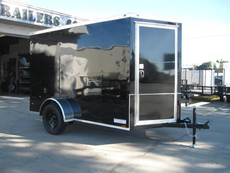 6x10 Therma Cool Motorcycle Hauler V-Front Trailer