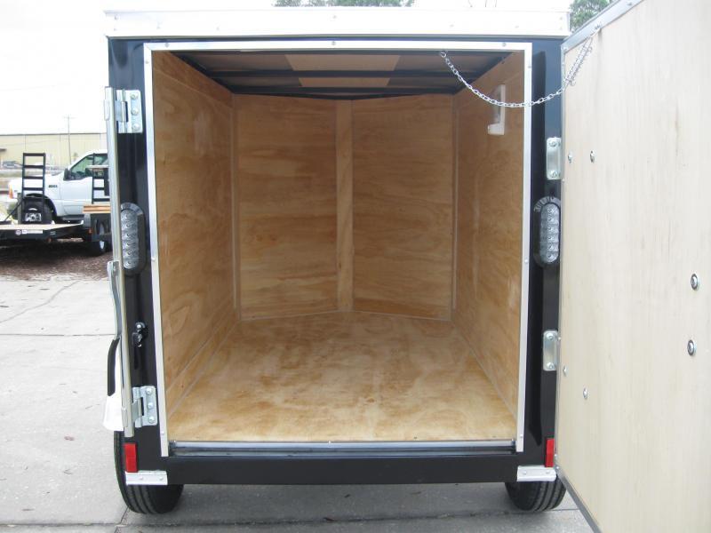 4x6SA-V Enclosed Cargo Trailer