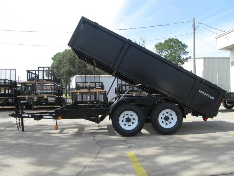 6x12 Dump Trailer 10K / 5 Ton HD Low Pro Series
