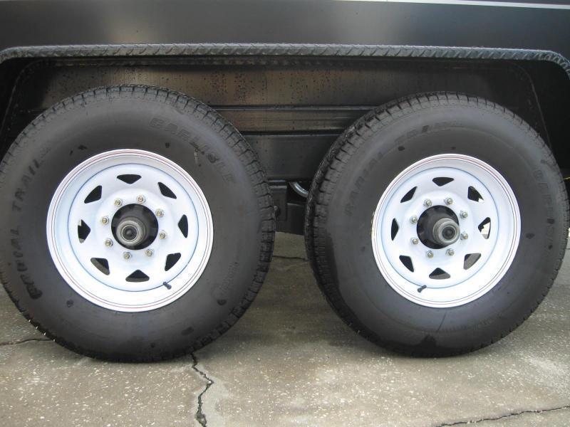 7x14 Dump Trailer Heavy Duty 14000 lb. 7 Ton GVWR BYOB