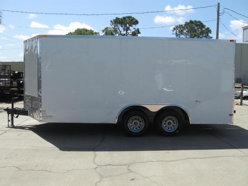 8.5x16 Trailer V-Nose Enclosed Cargo Trailer