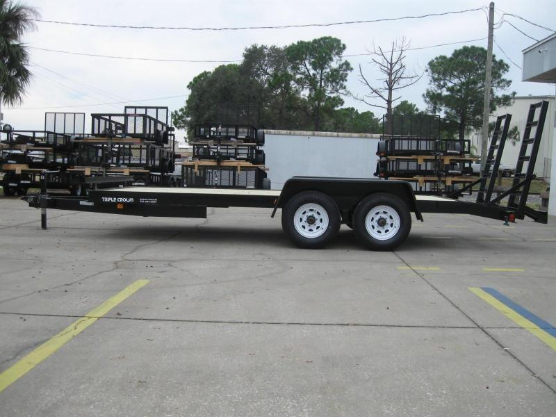 7x18 Equipment Trailer Low Rider 10K / 5 Ton