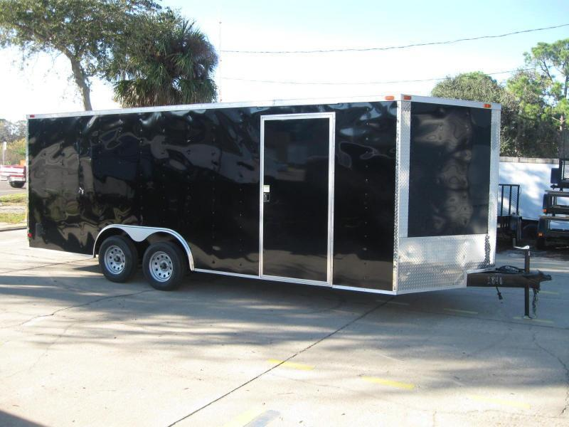 8.5x20 Trailer V-Nose Enclosed Cargo Trailer