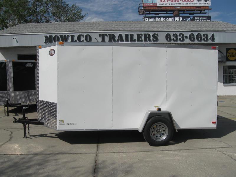 6x12 Trailer Enclosed V-Nose Cargo Trailer