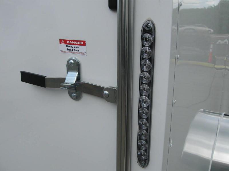 6x12 Trailer V-Front Enclosed Cargo Trailer