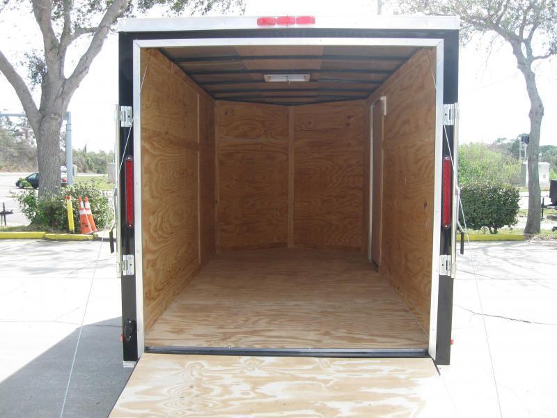 6x12 Trailer V-Nose Enclosed Cargo Trailer