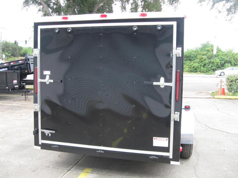 7x14 Trailer V-Nose Enclosed Cargo Trailer