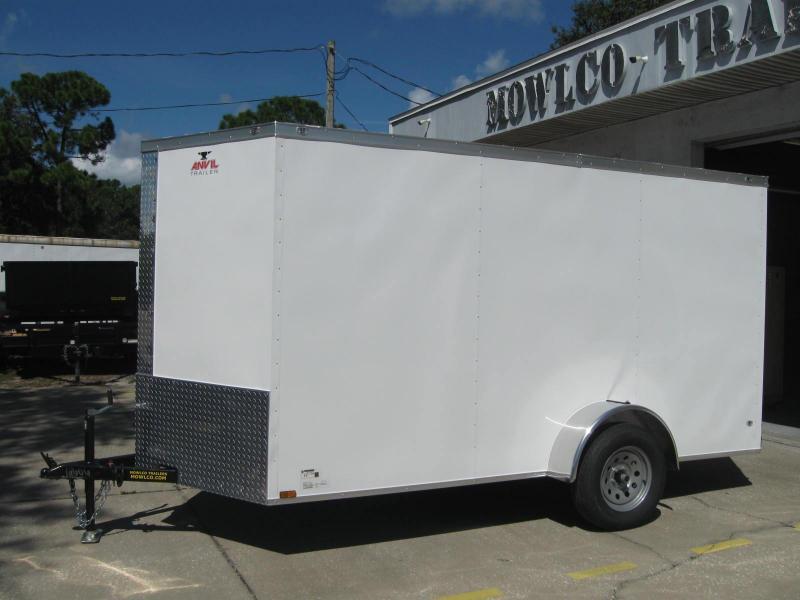 6x12 V-Front Trailer