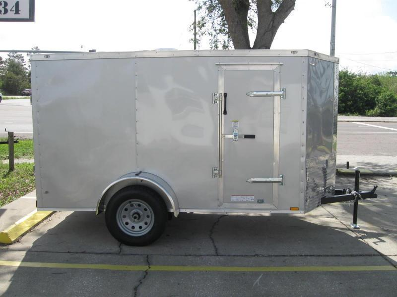 5x10 Therma Cool V-Nose Cargo Trailer