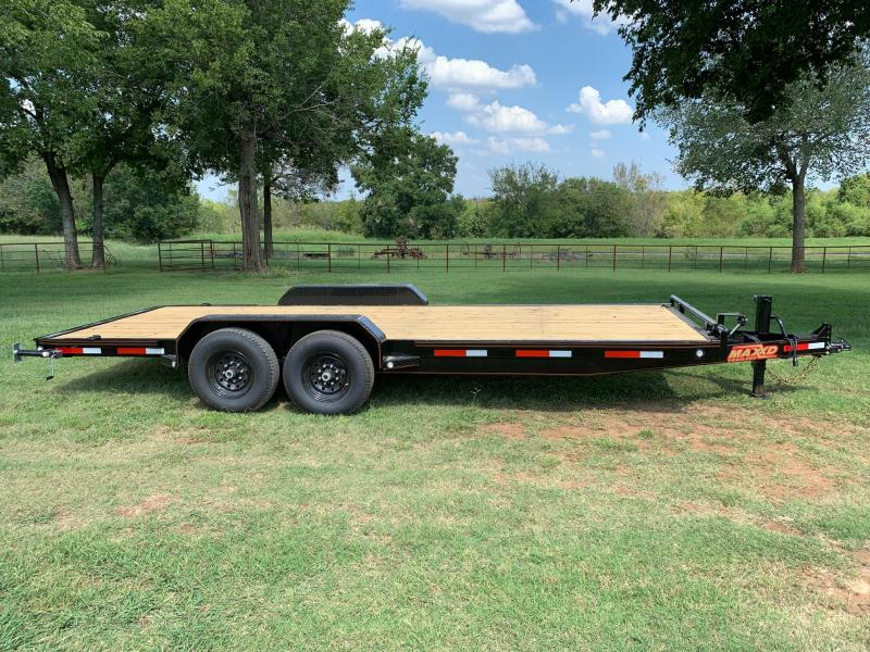 "NEW MAXXD 20' X 83"" EQUIPMENT HAULER 14K"