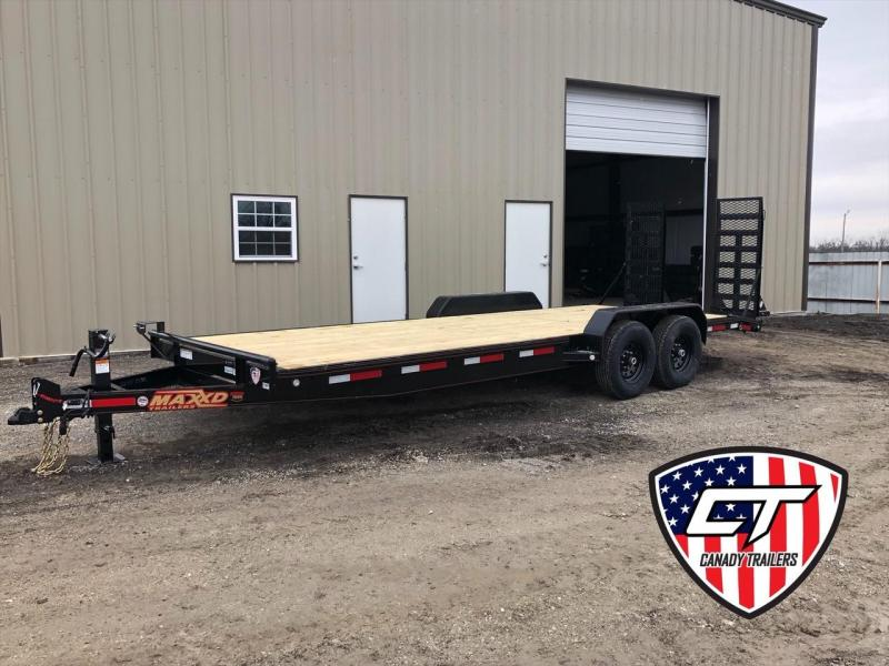 "NEW MAXXD 22' X 83"" EQUIPMENT HAULER 14K"