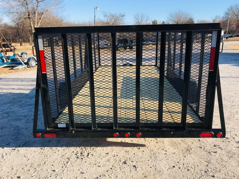 "NEW MAXXD 16' X 83"" TANDEM AXLE LANDSCAPE WITH 4' SIDES"