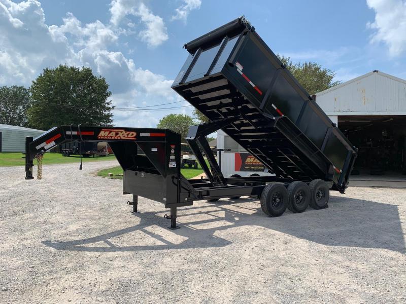 2020 MAXXD 18' x 7' GN Super HD High Side Dump