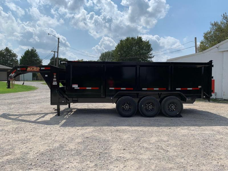 2020 MAXXD 18' x 7' GN Super HD High Side Dump