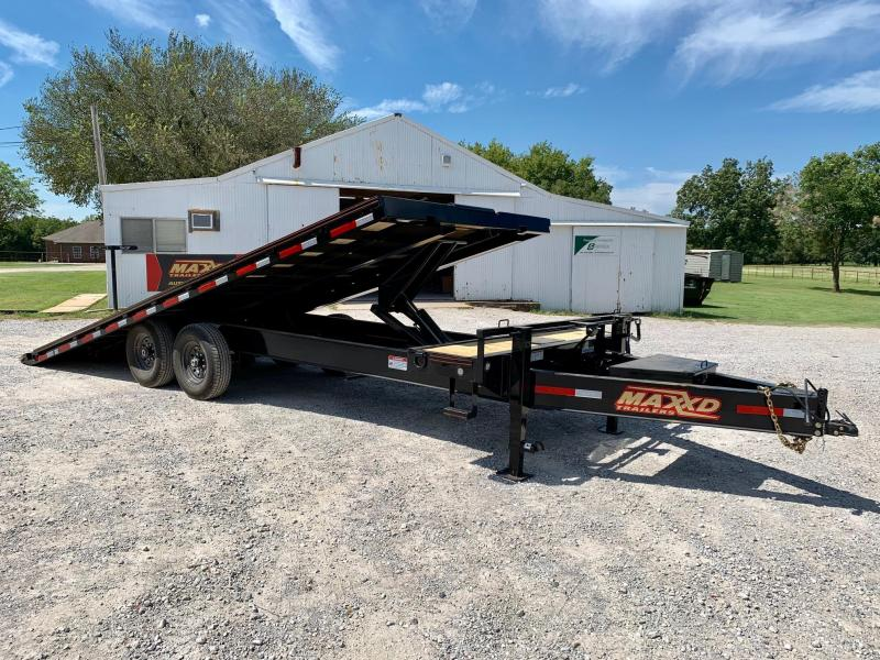 "2020 MAXXD 24' x 102"" Deckover Power Tilt"
