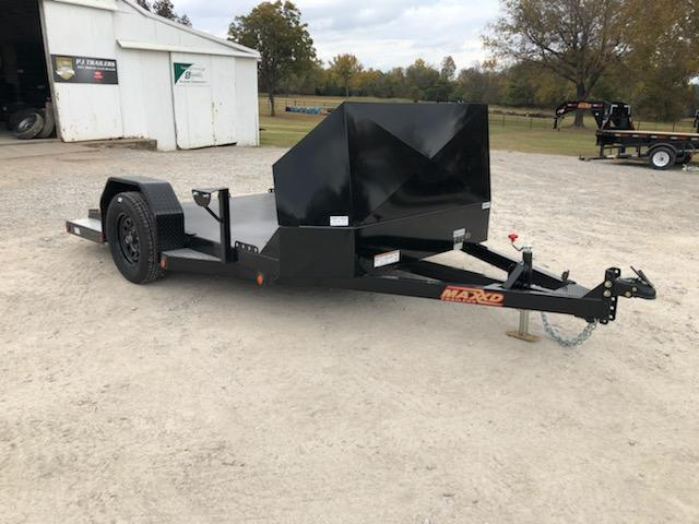 "NEW MAXXD 10' x 82"" MOTORCYCLE HAULER"