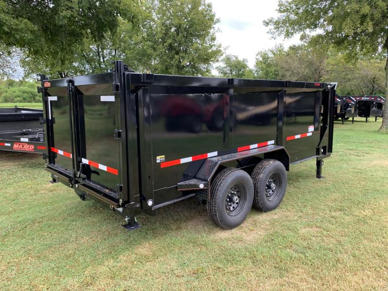 2020 MAXXD 14' x 7' GN I-Beam Low-Pro High-Side Dump 14K