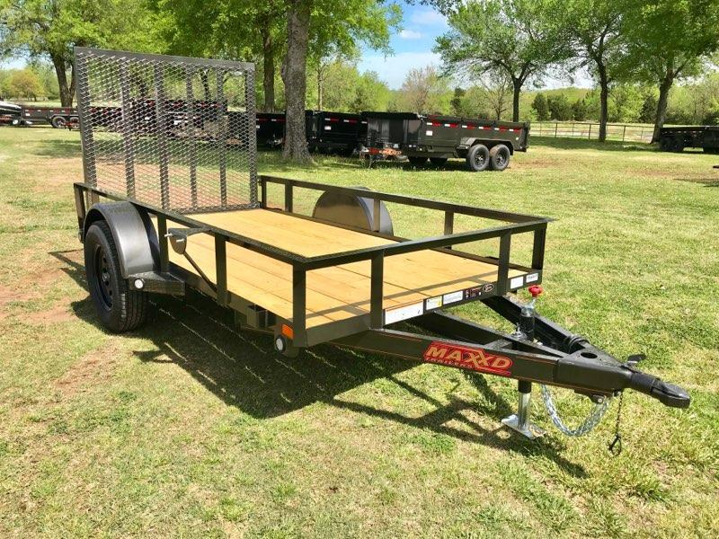 2020 MAXXD 10' x 5' Single Axle Utility