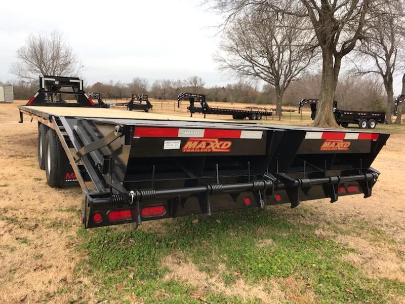 "NEW MAXXD 32' X 102"" TANDEM DUAL FLATBED WITH MAXXD-OUT RAMPS"