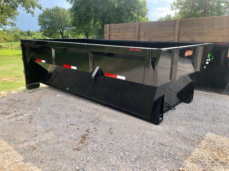 NEW MAXXD 14' ROLL OFF DUMP BIN
