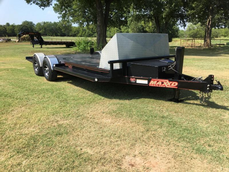 "Used 2018 MAXXD 20' x 80"" 10K Drop-N-Load"