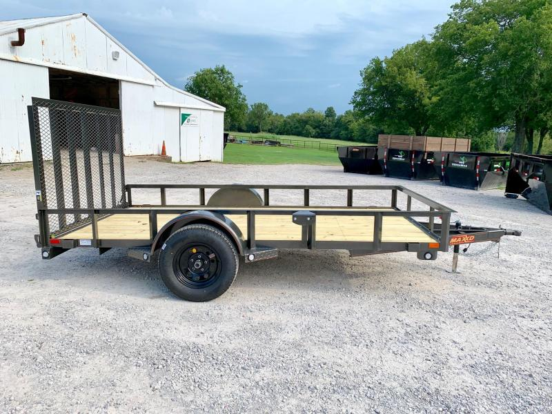 "2020 MAXXD 12' x 77"" Single Axle Utility"