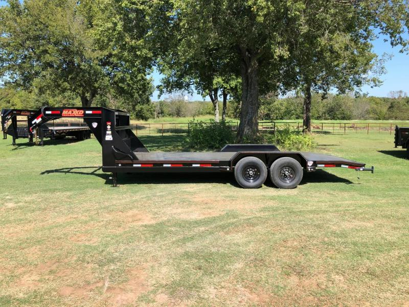 "2020 MAXXD 20' x 83"" GN Steel Floor Equipment Hauler 14K"