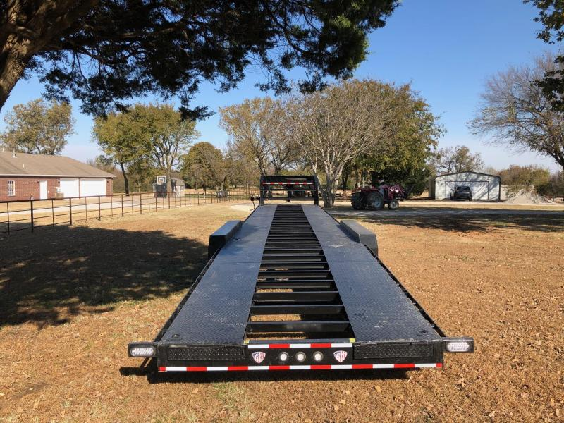USED ELITE TRAILERS 44' GN THREE CAR HAULER