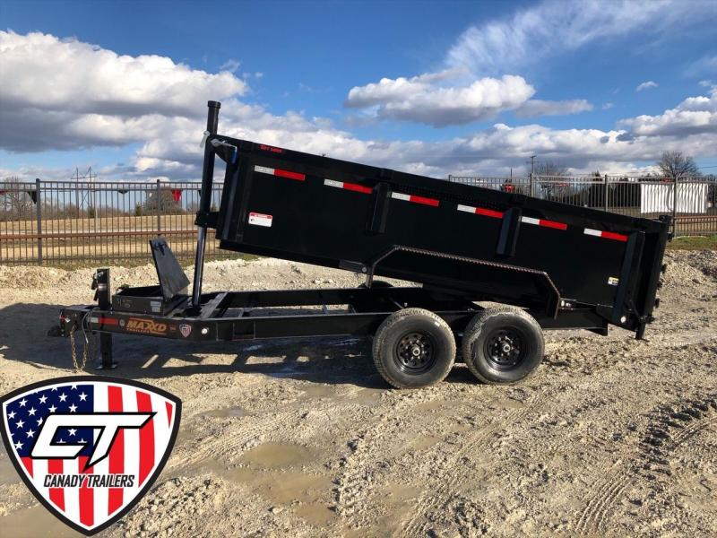 "NEW MAXXD 14' X 83"" LOW-PRO TELESCOPING DUMP"