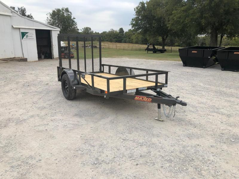 NEW MAXXD 10' X 5' SINGLE AXLE UTILITY W/ WRAPPED TONGUE