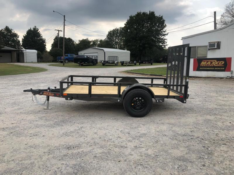 2020 MAXXD 10' x 5' Single Axle Utility (Wrapped Tongue)