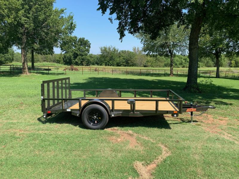"2020 MAXXD 12' x 77"" Single Axle Utility With Dovetail"