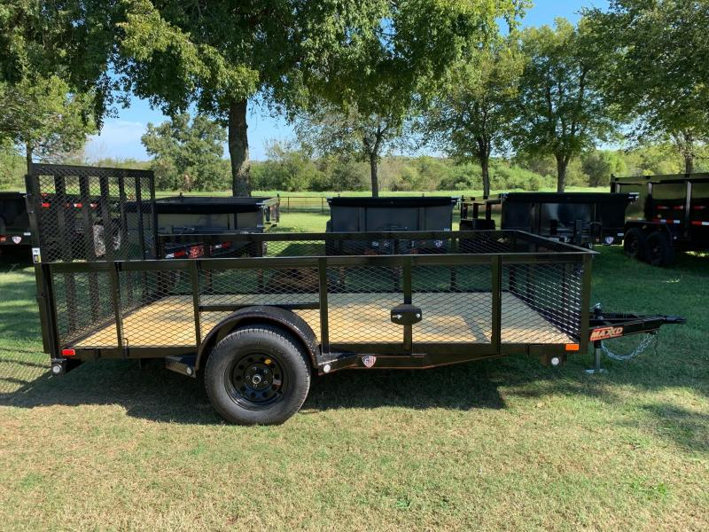 "2020 MAXXD 12' x 77"" Single Axle Landscape Trailer"
