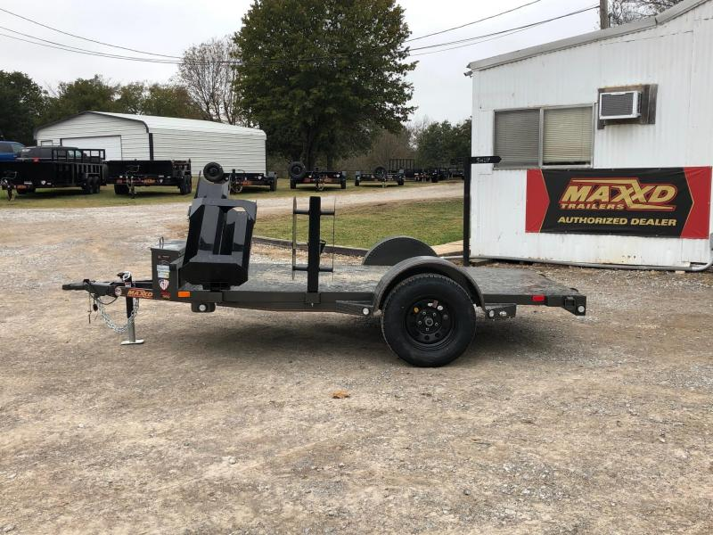 "NEW MAXXD 10' X 61"" SINGLE AXLE WELDING TRAILER"