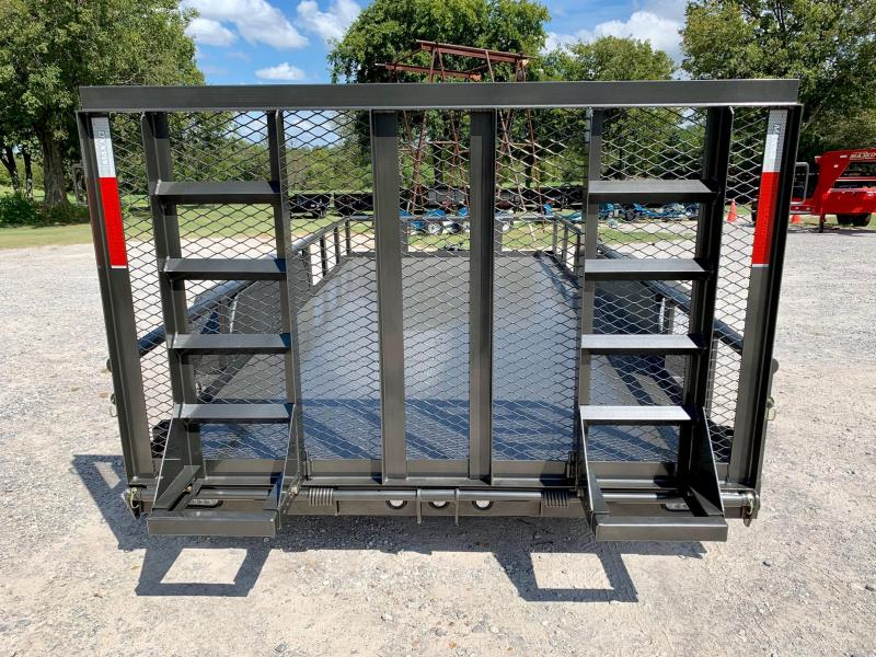 "2020 MAXXD 16' x 83"" Pipe-Top All-Steel Utility W/ HD Gate"