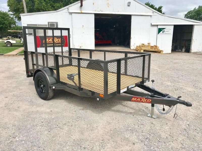 NEW MAXXD 5' X 10' SINGLE AXLE LANDSCAPE