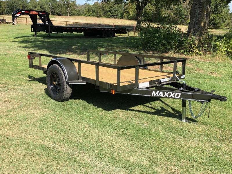 NEW MAXXD 10' X 5' SINGLE AXLE QUICK TILT