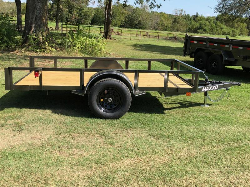 2020 MAXXD 10' x 5' Single Axle Quick Tilt