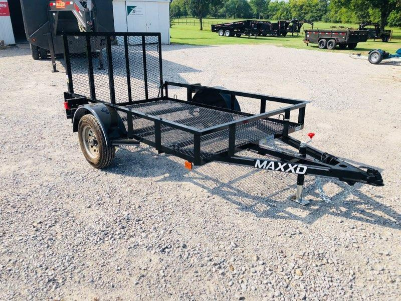 NEW MAXXD 5' X 8'  2K SINGLE AXLE UTILITY